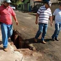 Prefeitura realiza operação tapa-buracos