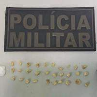 Policiais evitam mais uma ação do tráfico de drogas