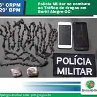 PM intensifica combate ao tráfico de drogas