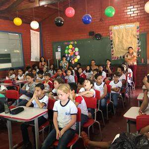 Goiás Interior participa de atividade na Escola Ana Perciliana