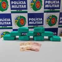 Polícia Militar faz nova apreensão de drogas