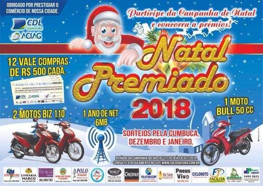 4dcb227d7 Natal Premiado 2018 realiza primeiro sorteio - Goiás Interior - A ...