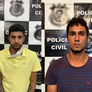Dois indivíduos são presos preventivamente suspeitos de participarem de duplo homicídio