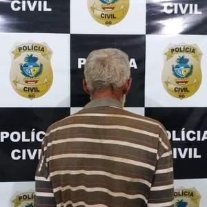 Idoso é preso acusado de estupro de vulnerável