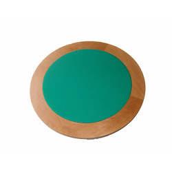Mesa redonda para carteado