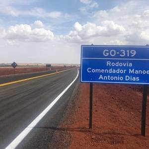 Rodovia GO 319 será inaugurada dia 14