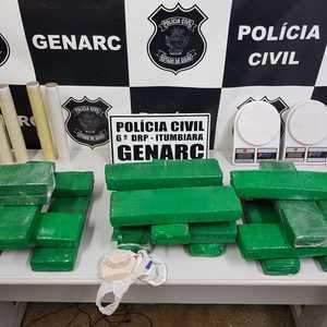 Polícia prende casal acusado por tráfico de drogas