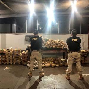 Integração policial apreende meia tonelada de droga nas rodovias goianas