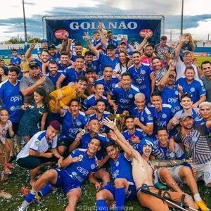 Azulão conquista título goiano Série C invicto