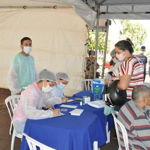 Começou vacinação para pessoas com comorbidades