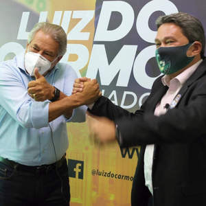 Buriti Alegre: Senador Luiz do Carmo hipoteca apoio à Félix