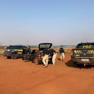 PRF apreende mais de 250 quilos de maconha em Jataí