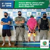 Polícia Militar Recaptura foragido da justiça